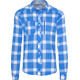 Bergans Jondal Longsleeve Shirt Men blue/white